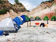 Camping overnight