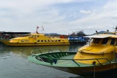Ferry in Segadas beach