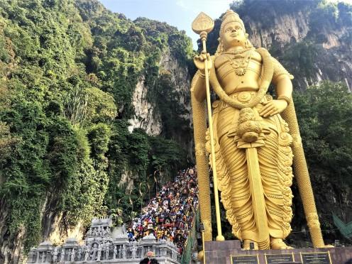 Murugan Statue-Hindu God