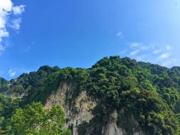Batu Cave hills