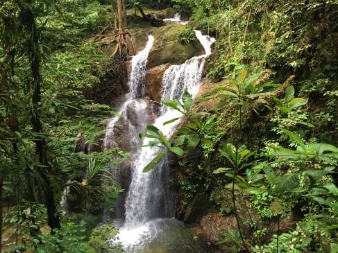 Sungai Pisang Waterfalls